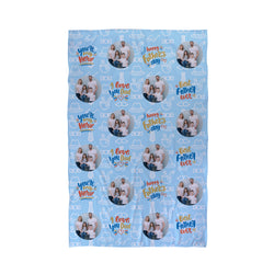 Fathers Day Beach Towel