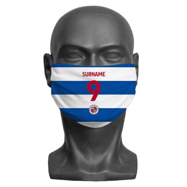 Reading FC Back of Shirt Adult Face Mask