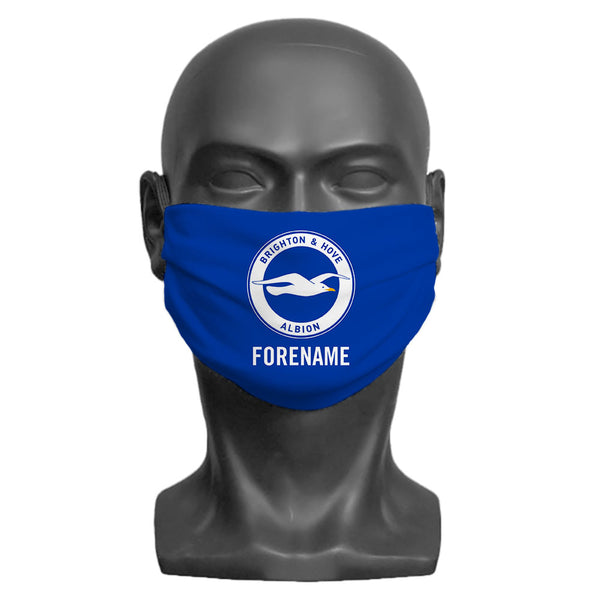Brighton & Hove Albion FC Crest Adult Face Mask