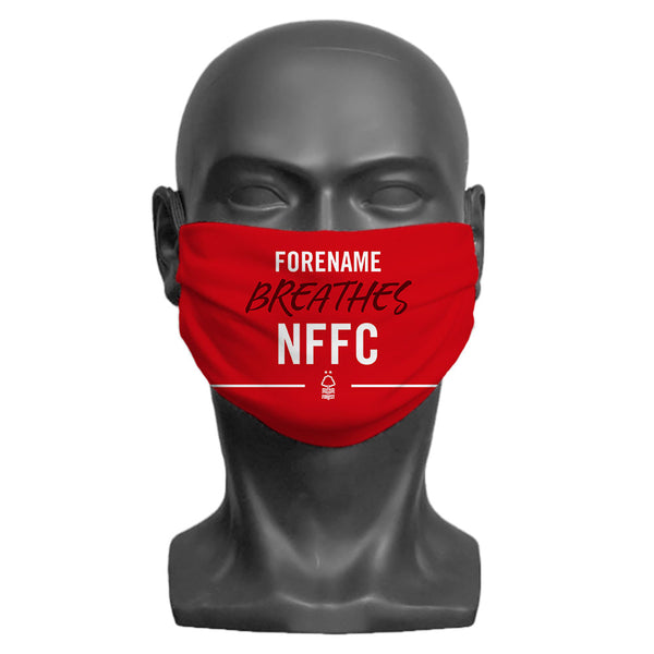 Nottingham Forest FC Breathes Adult Face Mask