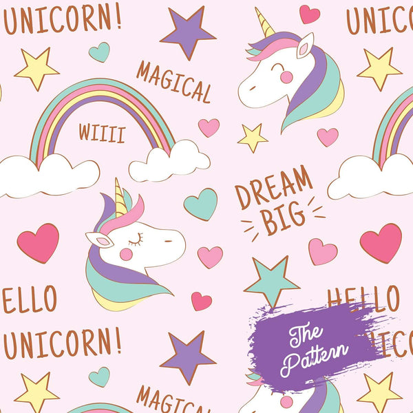 Add 9 Photos - Unicorn - Pillow Case