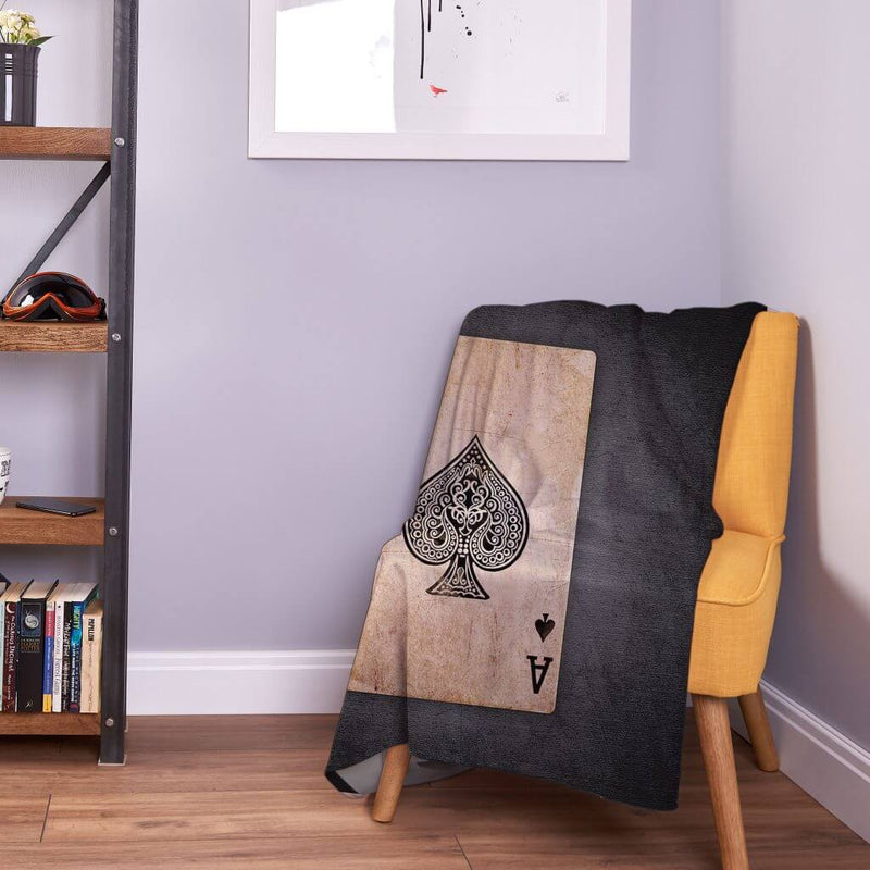 Modern Fleece Throw Blanket | Games Room Ideas
