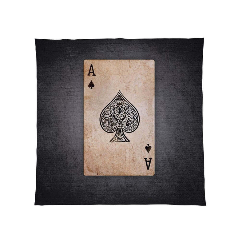 Ace Of Spades - Fleece Blanket Throw