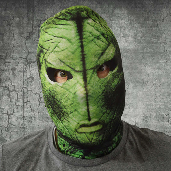 Alien Menace - Green - Faceskin