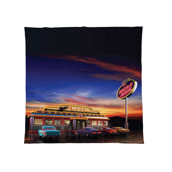 American Diner - Fleece Throw