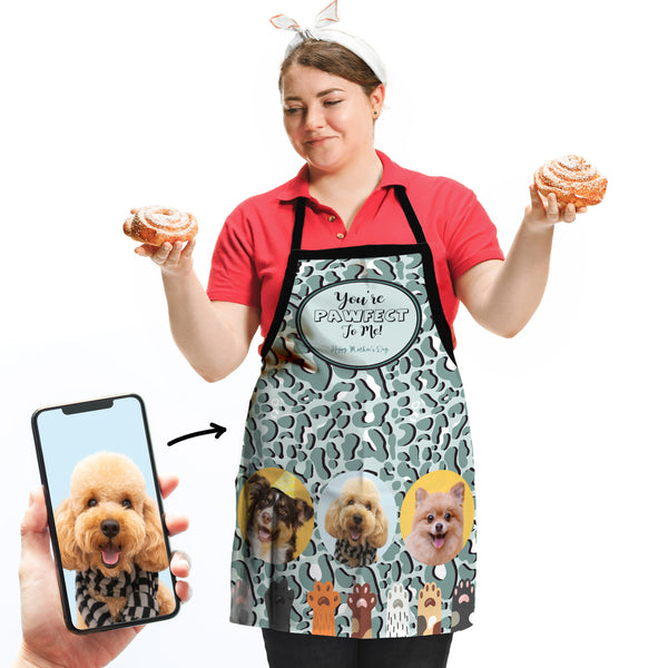 You're Pawsome to me! - Personalised Adults Apron