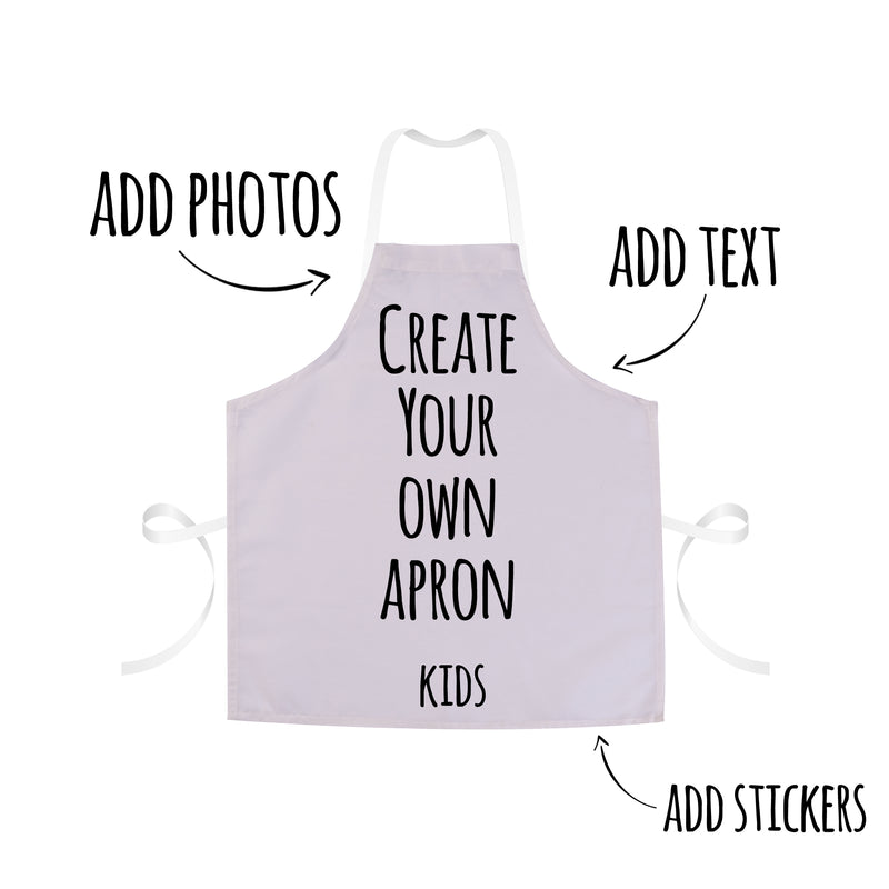 Personalised Apron| Custom Apron For Kids & Adults