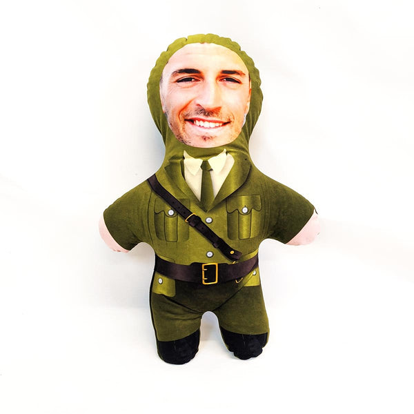 army soldier mini me doll