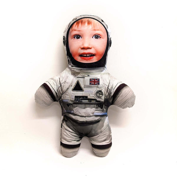 Mini Me Astronaut Doll Kids | Custom Photo Doll