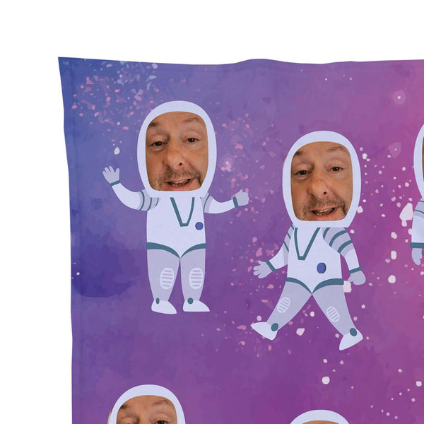 Astronaut - Face Character Blanket