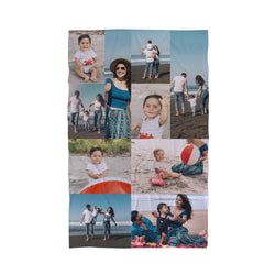 Photo Collage Beach Towel