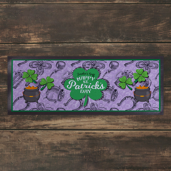 Personalised Bar Runner 2 -  St Patrick's Day
