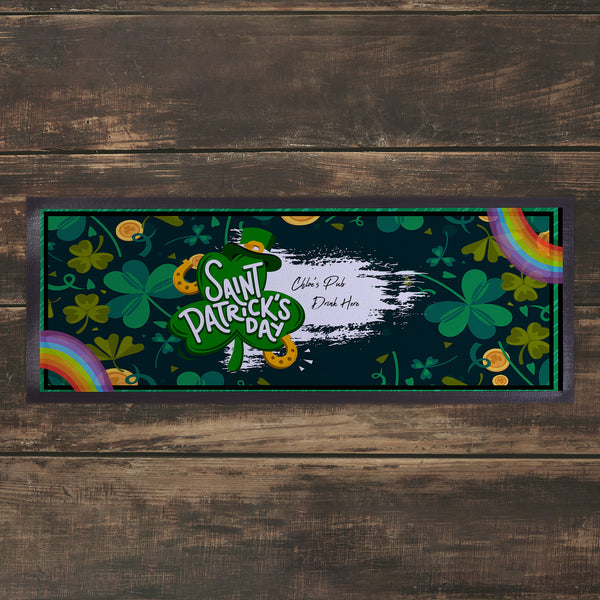 Personalised Bar Runner 1 -  St Patrick's Day
