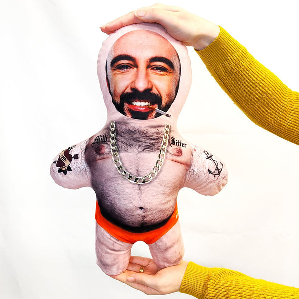 tattoo beer belly mini me doll