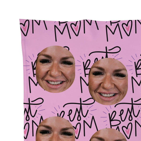 Best Mum - Face Scatter Blanket