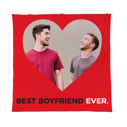 Valentines Day Heart Throw | Same Sex Valentines Gifts