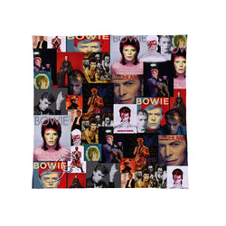 Celebrity Montage - David Bowie Fleece Throw