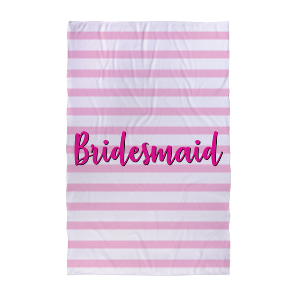 Bridesmaid - Wedding Towel