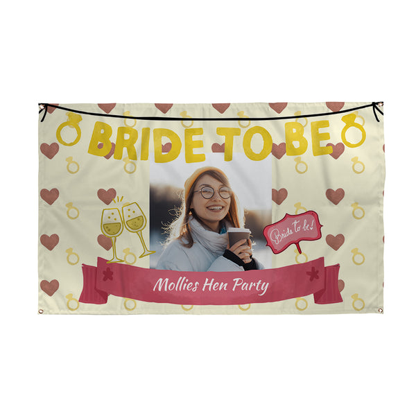 Bride to Be Hen Party Banner | Photo Banner UK