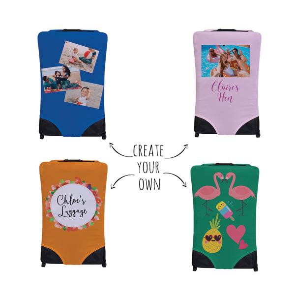 Create Your Own! Personalised Suitcase Cover - Small