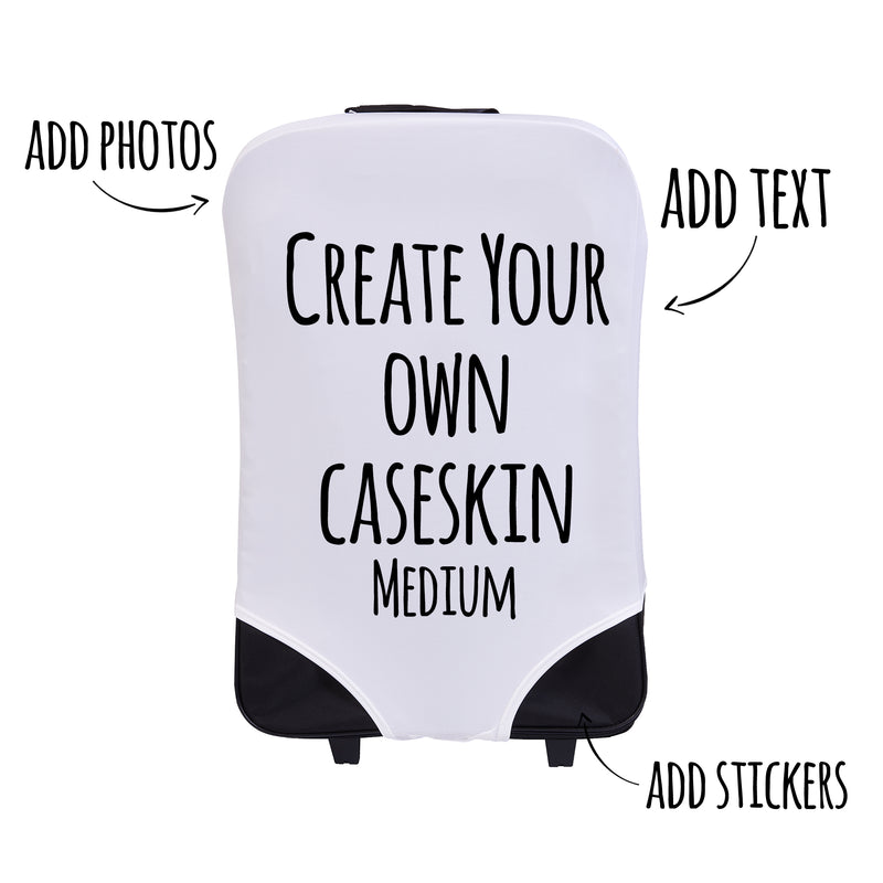 Create Your Own! Personalised Suitcase Cover - Medium