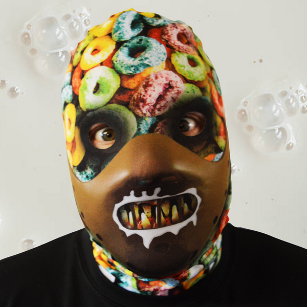 Cereal Killer Face Mask! Faceskin