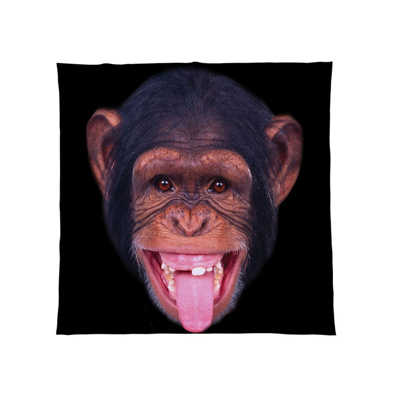 Chimp Fleece Throw Blanket UK