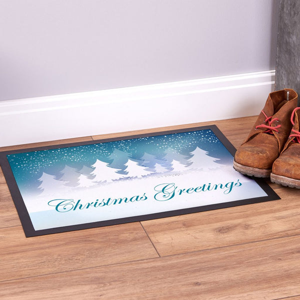 Christmas Greetings - Door Mat