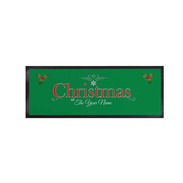 Christmas at the... - Bar Runner