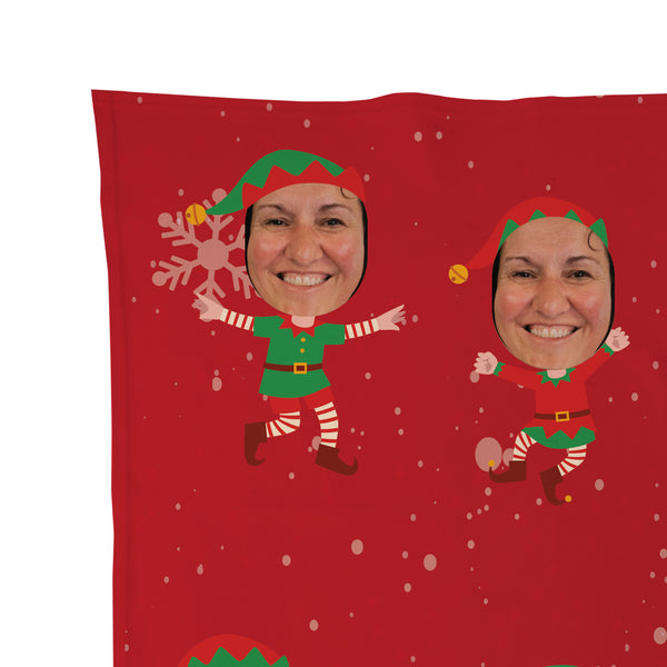 Christmas Elf - Face Character Blanket