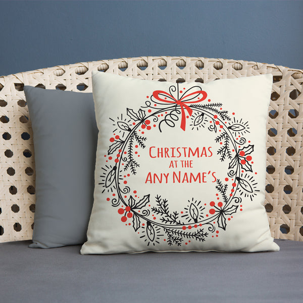 Christmas at the... - 45cm Cushion
