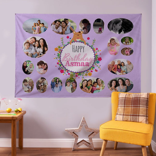 Personalised Photo Banner - 6ft x 4ft