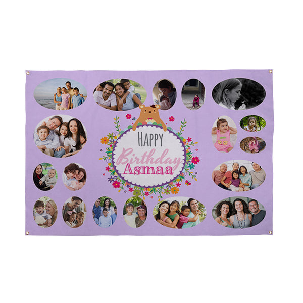 Personalised Photo Banner - 3ft x 2ft