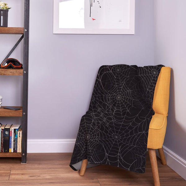 Spider Cobwebs - Fleece Throw