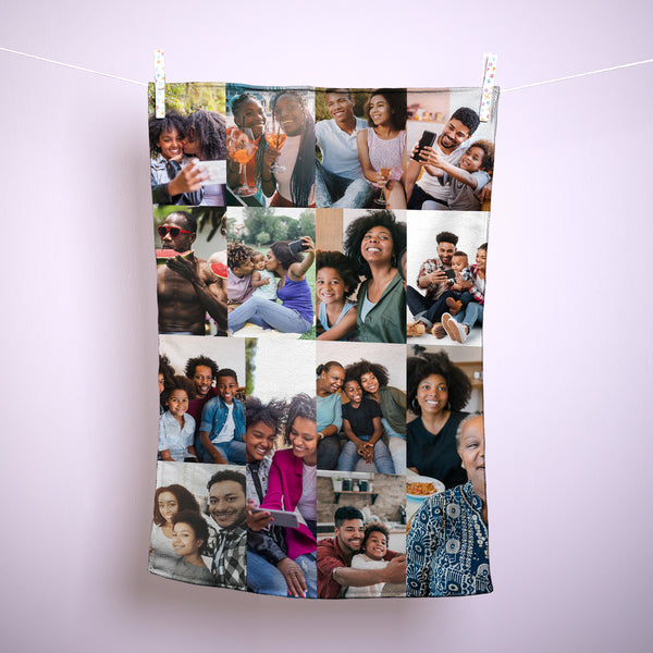 Create Your Own Collage - Personalised Tea Towel