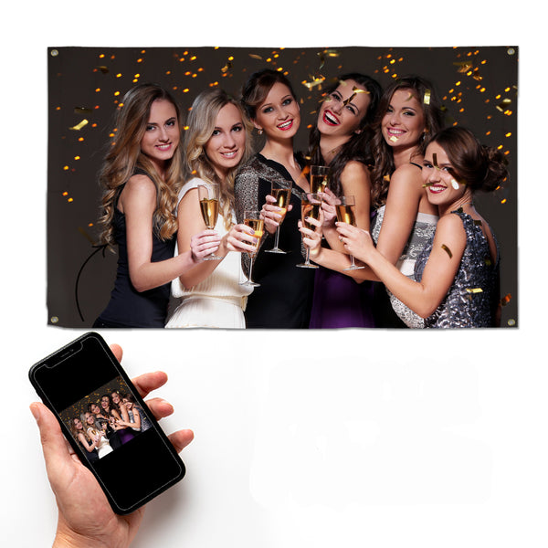 Create Your Own Party Banner - 5ft x 3ft
