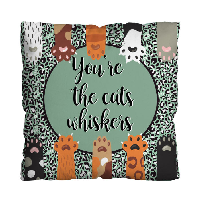 You're The Cat's whiskers! - 45cm Cushion