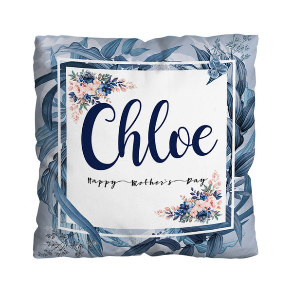 Personalised Summer Blue Bliss Design - 45cm Cushion