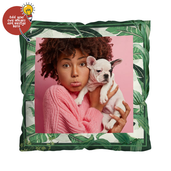 Personalised Jungle Design - 45cm Cushion