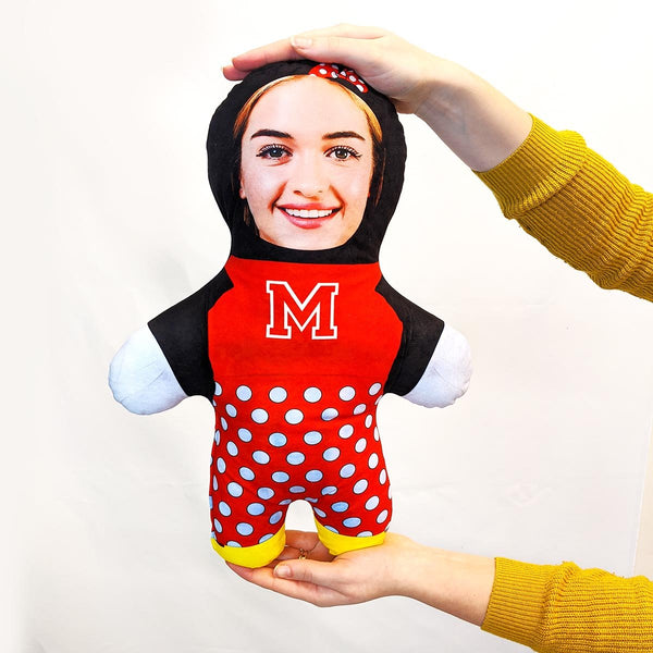 minnie mouse mini me doll