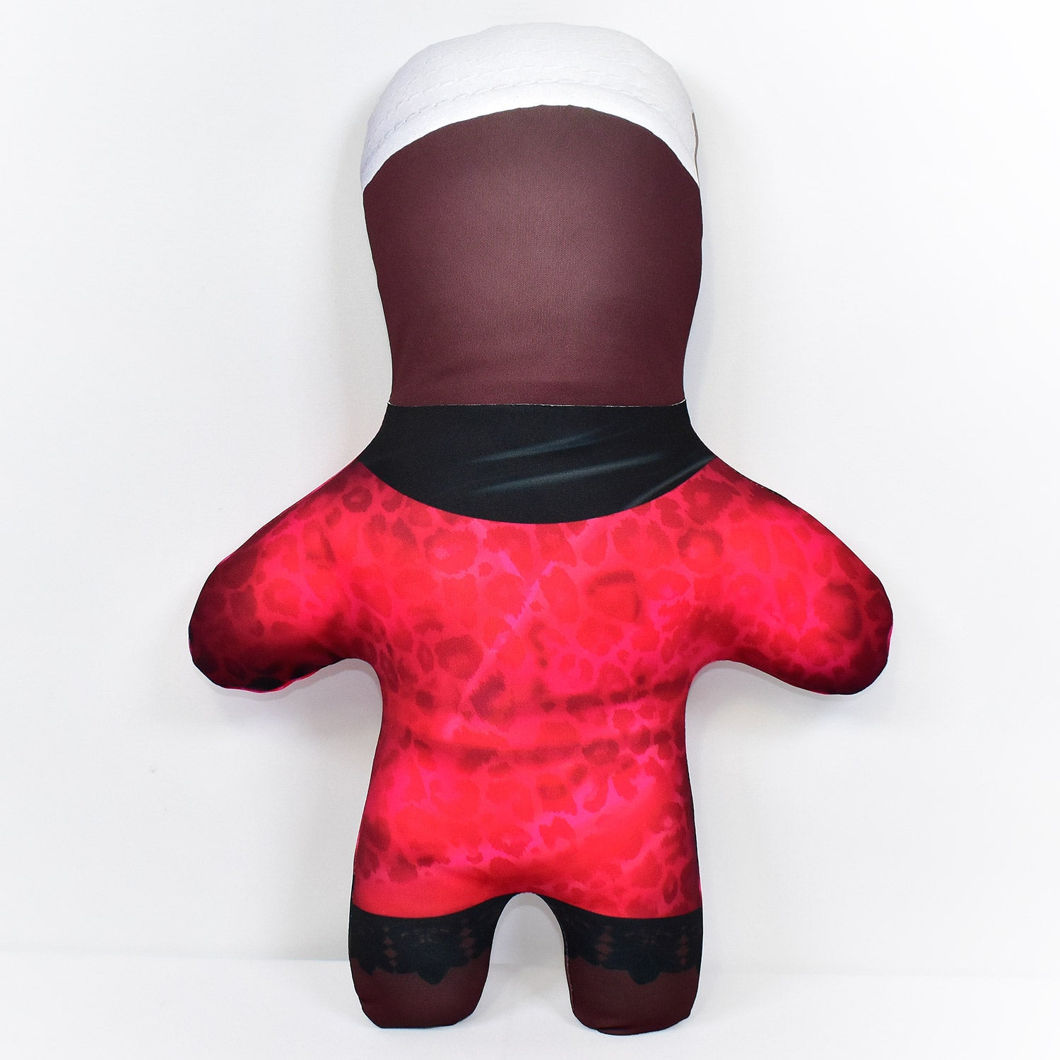 Red Silk Dressing Gown - Bedroom Sailor - 2 Skin Tones - Personalised Mini Me Doll