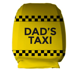 Dads Taxi Headrest Cover