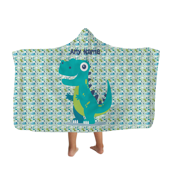 Dinosaur - Hooded Blanket - Kids
