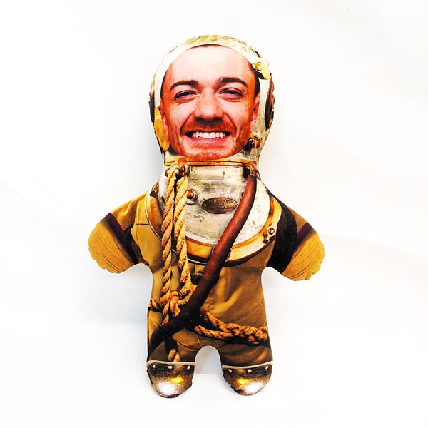 deep sea diver mini me doll