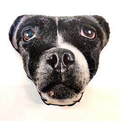 pet mush face cushion dog gift