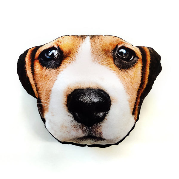 pet face cushion dog gift