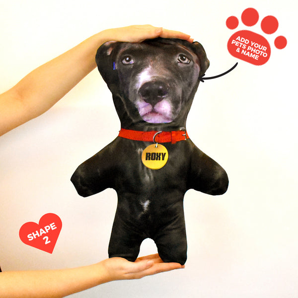 Black Dog Fur - Personalised Pet Mini Me