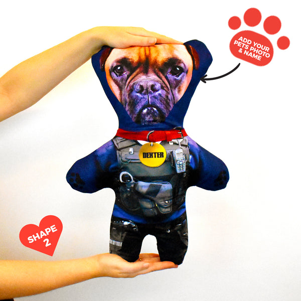 Police Officer - Personalised Pet Mini Me