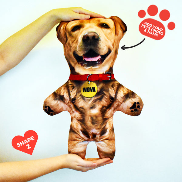 Blonde Dog Fur - Personalised Pet Mini Me