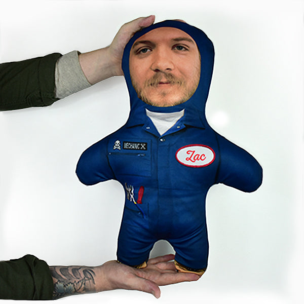 Mechanic - Personalised Mini Me Doll